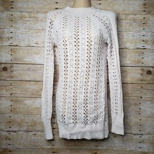 FREE PEOPLE | Open Knit Long Sweater